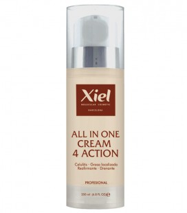 Crema Anticelulítica Moldeadora de 4 acciones / ALL IN ONE CREAM 4 ACTION 200ml